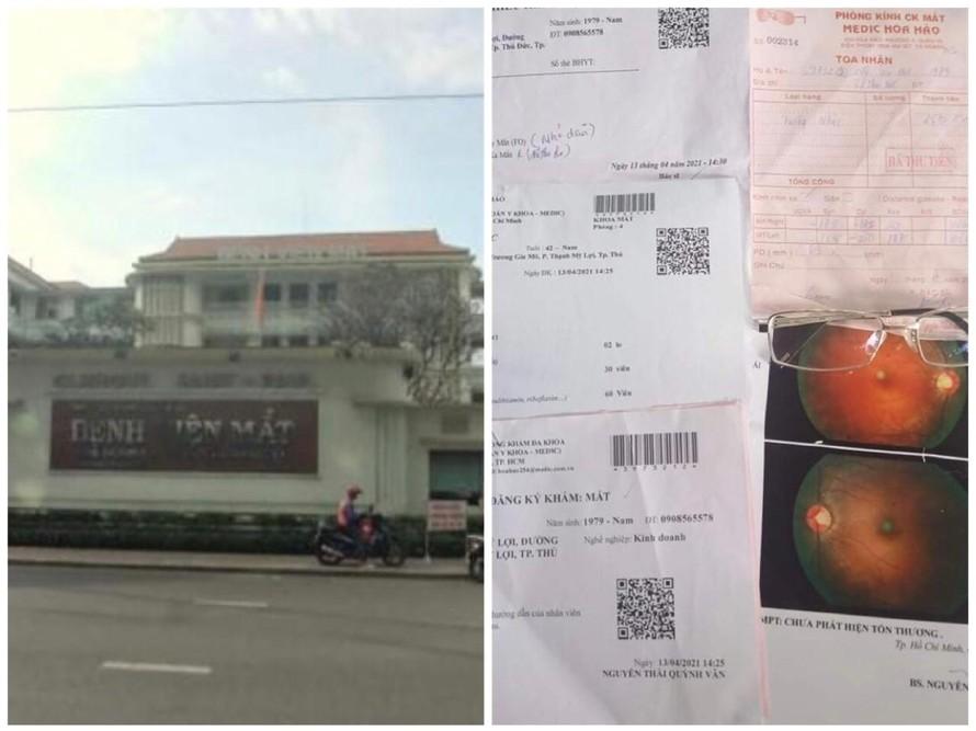 Loạn kính thuốc - Bài 3: Bệnh viện Mắt TPHCM, Medic Hoà Hảo bán kính thuốc 'đểu'?