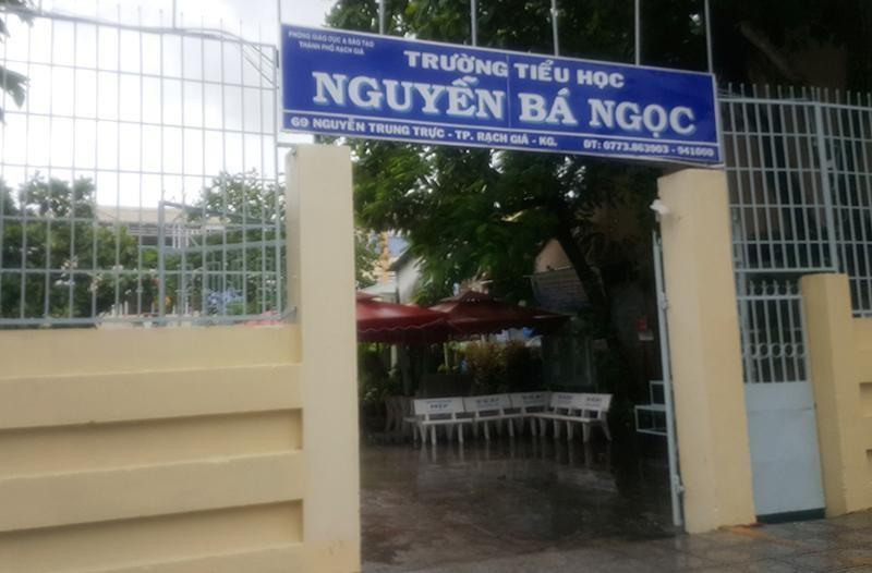Trường Tiểu học Nguyễn Bá Ngọc. (Ảnh: CTV)