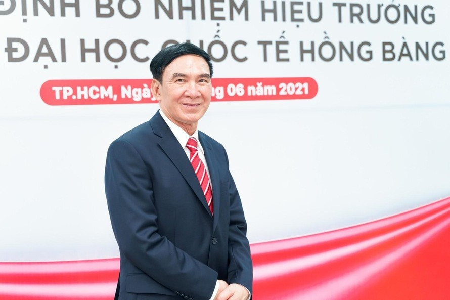 GS.TS Phạm Văn Lình làm Hiệu trưởng Trường Đại học Quốc tế Hồng Bàng