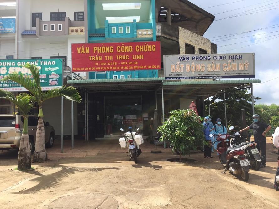 Văn phòng Công chứng Trúc Linh.