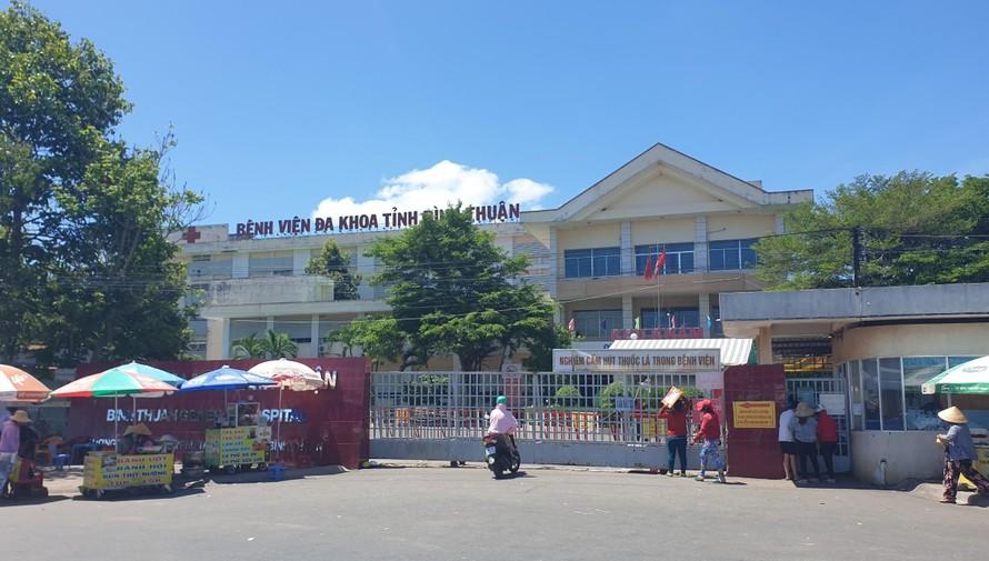 Bệnh viện Đa khoa tỉnh Bình Thuận phong toả sau khi phát hiện ca nghi nhiệm Covid-19.