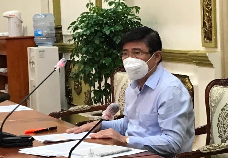 Chủ tịch UBND TP.HCM Nguyễn Thành Phong.