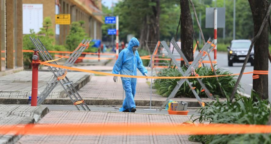 TP.Thủ Đức phong toả thêm hai phường Linh Xuân và Hiệp Bình Phước để phục vụ công tác chống dịch Covid-19.