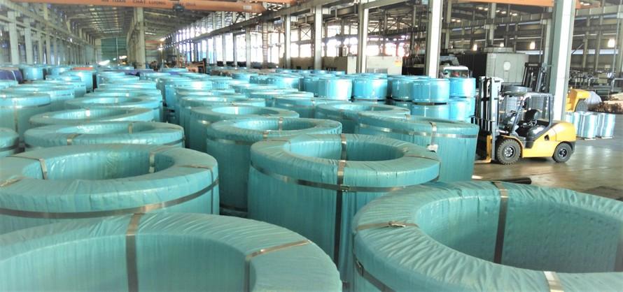 Hòa Phát tăng trưởng hơn 100% sản lượng thép dự ứng lực