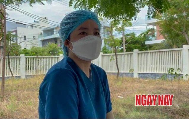 Nữ nhân viên y tế Loan.