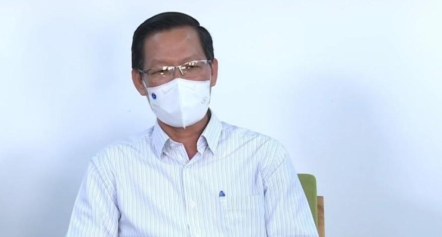 Ông Phan Văn Mãi - Chủ tịch UBND TP.HCM.