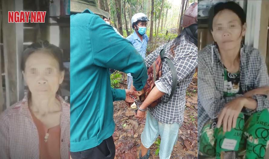 Hai người phụ nữ bị bảo vệ Công ty Lâm nghiệp La Ngà tấn công, trói và còng tay giữa rừng.