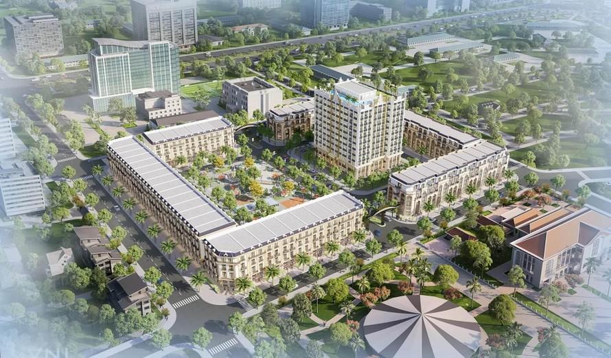 Phối cảnh dự án D'Metropole Hà Tĩnh