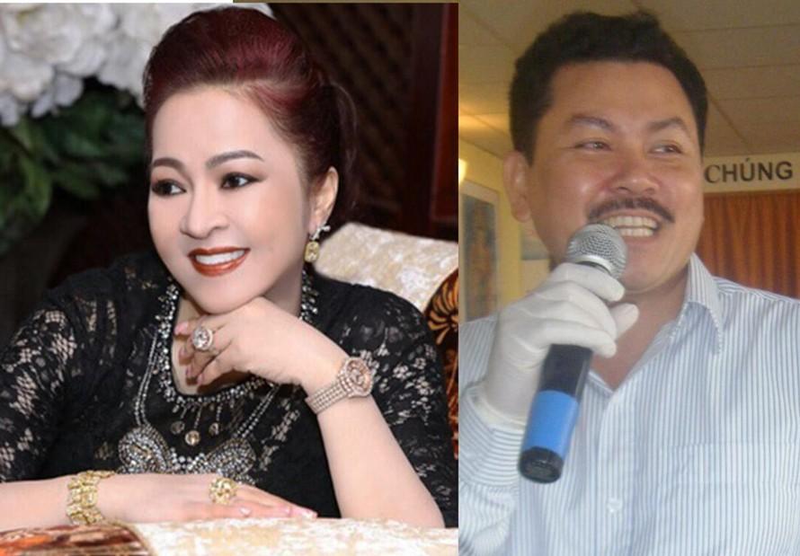 Bà Nguyễn Phương Hằng và ông Võ Hoàng Yên.