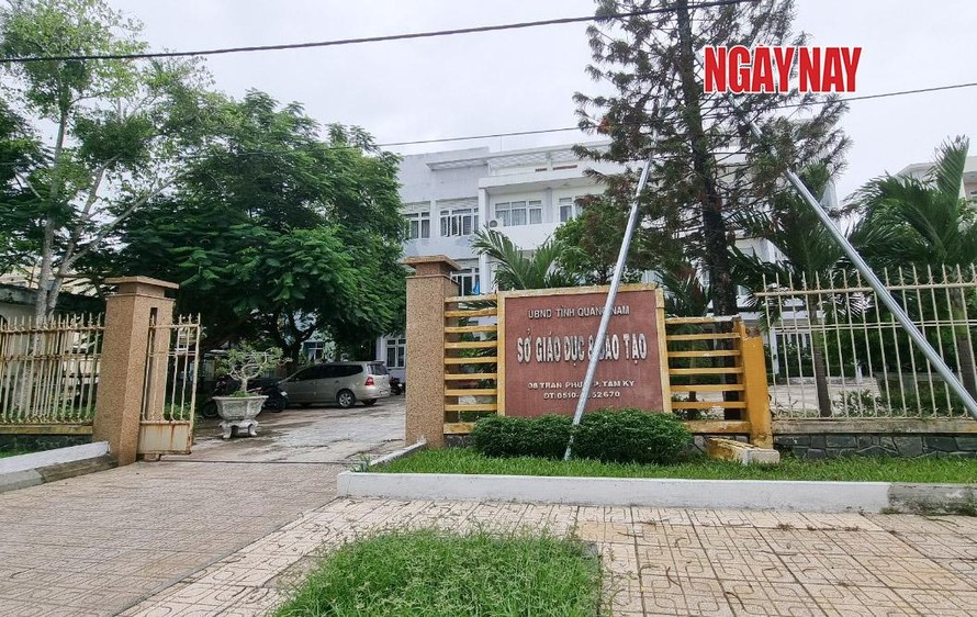 Trụ sở Sở GD&ĐT tỉnh Quảng Nam. Ảnh: Lê Xuân Thọ