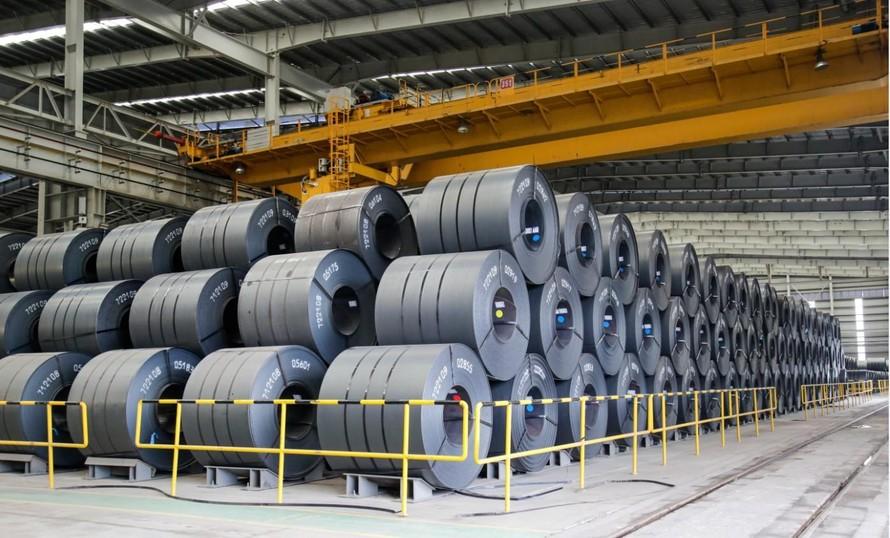Sản phẩm thép cuộn cán nóng (HRC) là động lực tăng trưởng mới của Hòa Phát