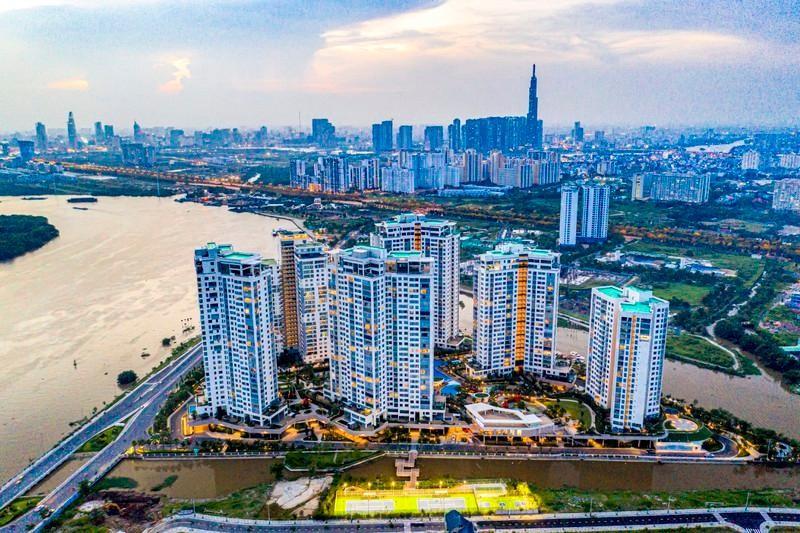 Thị trường bất động sản tại TP.HCM và vùng phụ cận sụt giảm nghiêm trọng trong dịch Covid-19.