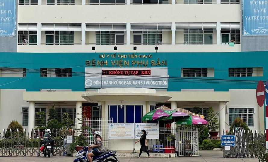 Bệnh viện Phụ sản Tiền Giang.