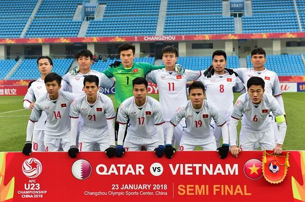 Đội tuyển U23 Việt Nam đã làm nên lịch sử khi lọt vào Chung kết U23 Châu Á
