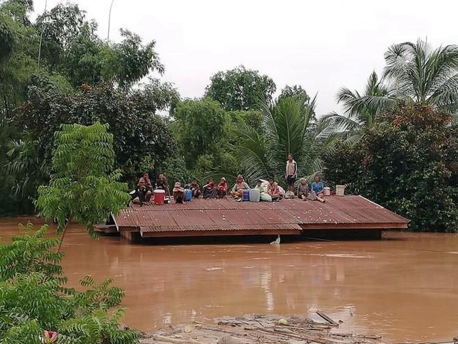 Sự cố vỡ đập thủy điện tại Lào khiến hàng ngàn hộ dân bị ảnh hưởng