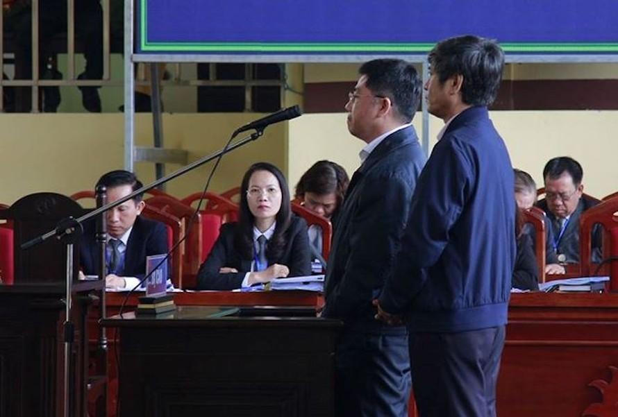 Bị cáo Nguyễn Thanh Hóa và Nguyễn Văn Dương