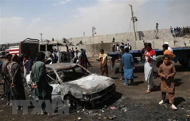 Ít nhất 26 người đã thiệt mạng và 159 người bị thương trong 2 vụ nổ lớn xảy ra ngày 2/9 và 5/9/2019 tại thủ đô Kabul. (Ảnh: THX/TTXVN)