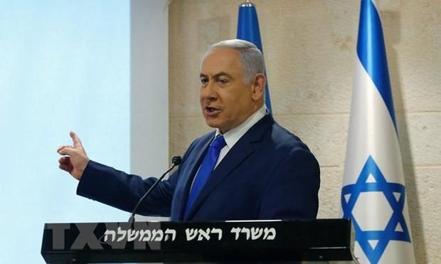 Thủ tướng Israel Benjamin Netanyahu. (Ảnh: THX/TTXVN)