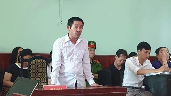 Ông Nguyễn Văn Chánh tại phiên tòa