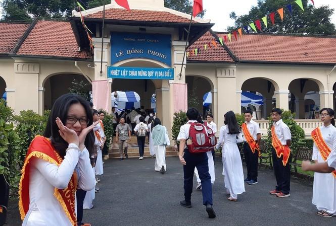 Thanh tra TPHCM vừa chỉ ra một số sai sót ở trường THPT Chuyên Lê Hồng Phong (ảnh minh họa)