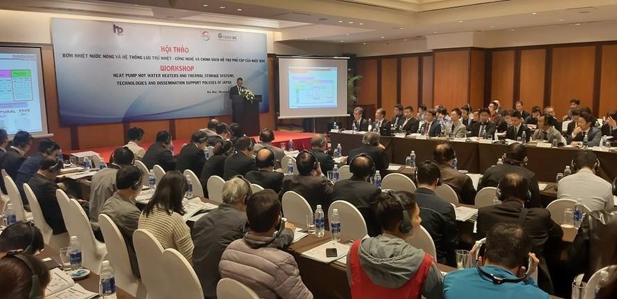 Nhật Bản thúc đẩy công nghệ bơm nhiệt, hệ thống lưu trữ nhiệt ở Việt Nam