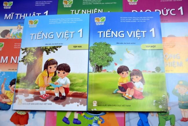 """7 điểm mới trong SGK Tiếng Việt lớp 1 thuộc bộ sách """"Kết nối tri thức với cuộc sống"""" của NXB Giáo dục Việt Nam."""