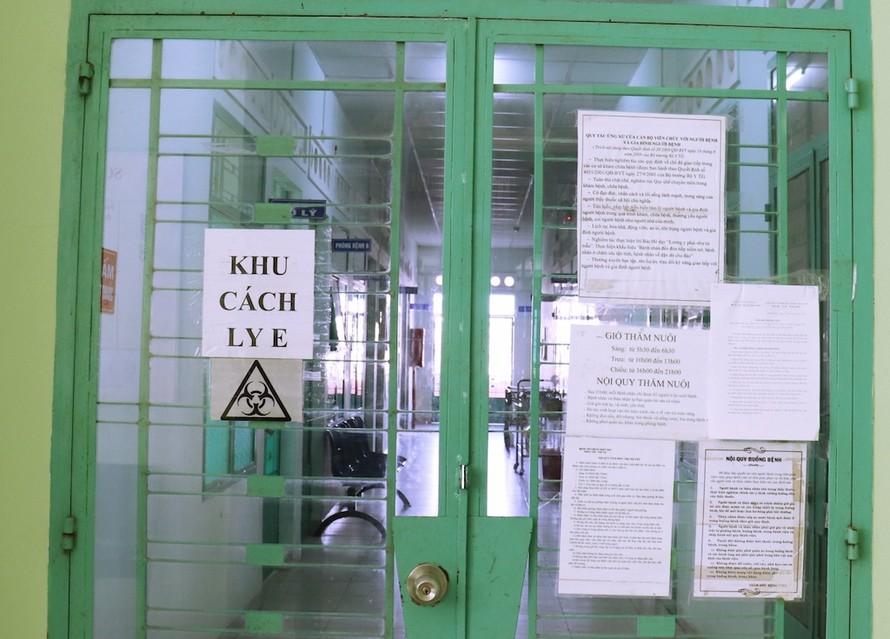 Khu vực dành cho bệnh nhân đã được điều trị ổn định và chuẩn bị xuất viện tại Bệnh viện Bệnh nhiệt đới tỉnh Khánh Hoà