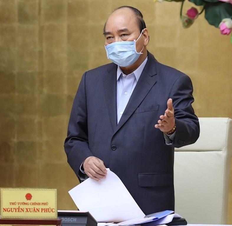 Thủ tướng Nguyễn Xuân Phúc chủ trì cuộc họp Thường trực Chính phủ chiều 27/3