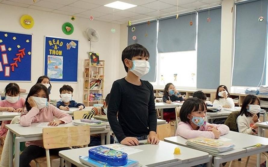 Giờ học của học sinh Trường phổ thông liên cấp Edison (Hưng Yên)