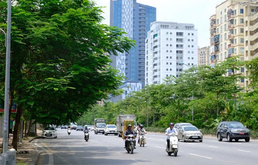 Sáng nay, chất lượng không khí tại Hà Nội ở mức tốt và trung bình