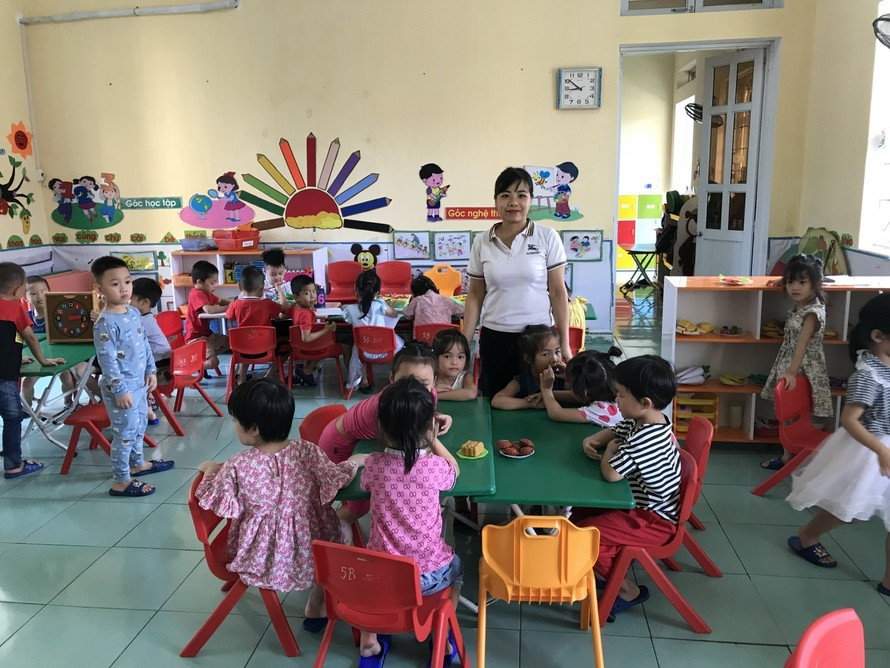 Xây trường mầm non lấy trẻ làm trung tâm: Cần hiểu việc và có phương pháp tốt