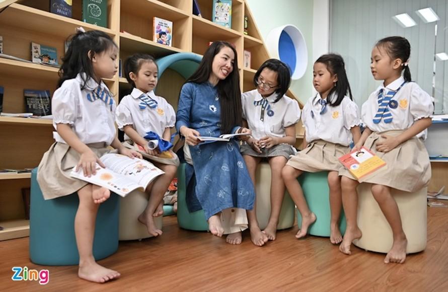 Học sinh tiểu học sẽ được định hướng, giáo dục nghề nghiệp. Ảnh minh họa: Việt Linh.