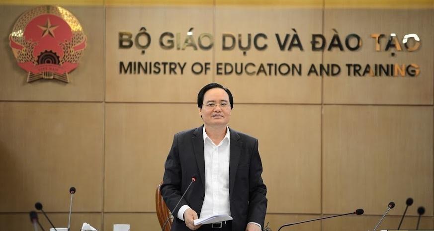 Bộ trưởng Phùng Xuân Nhạ: Giữ vững chương trình học dù phải chống dịch COVID-19
