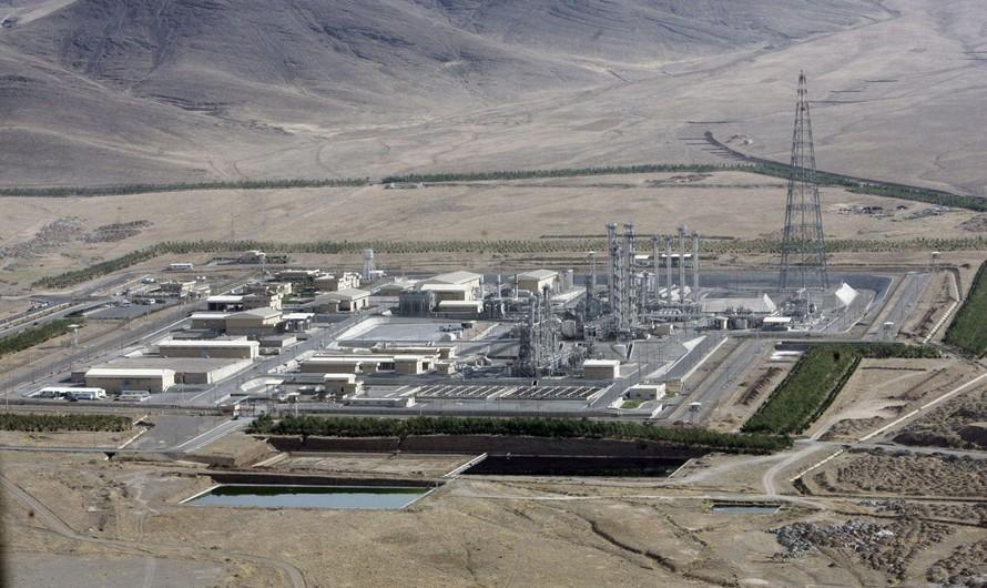 Cơ sở hạt nhân Natanz của Iran.