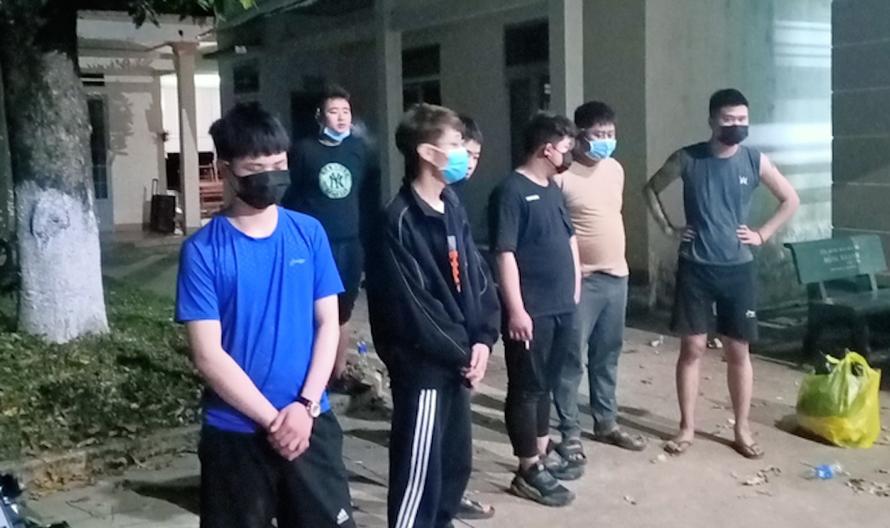 Bình Phước bắt giữ nhóm người Trung Quốc nhập cảnh trái phép