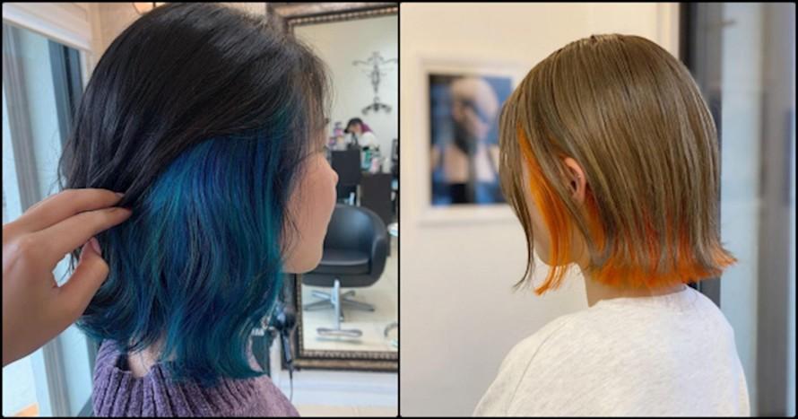 Nhuộm tóc đang là một xu hướng thời trang nhằm tạo cá tính riêng được nhiều bạn trẻ yêu thích. (Ảnh minh hoạ).