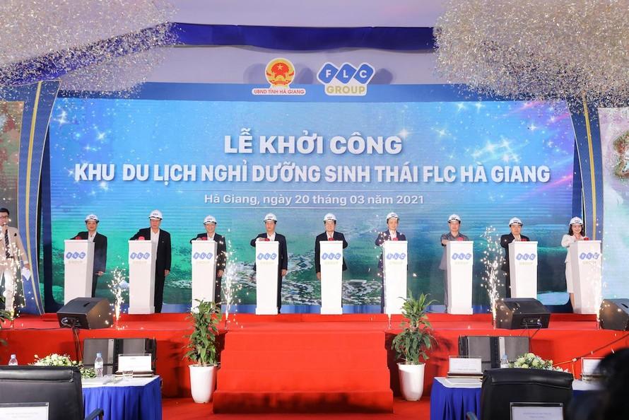 Khởi công Khu du lịch nghỉ dưỡng sinh thái FLC Hà Giang