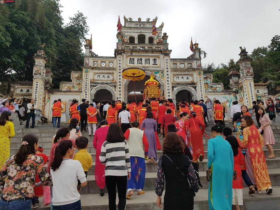 Tiến hành tu bổ di tích đền Sái ở Hà Nội