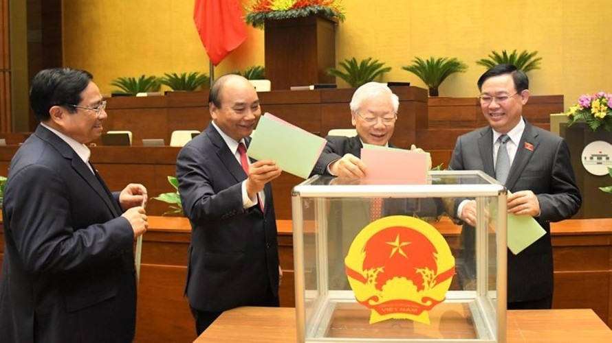 Quốc hội hoàn tất công tác nhân sự, họp phiên bế mạc