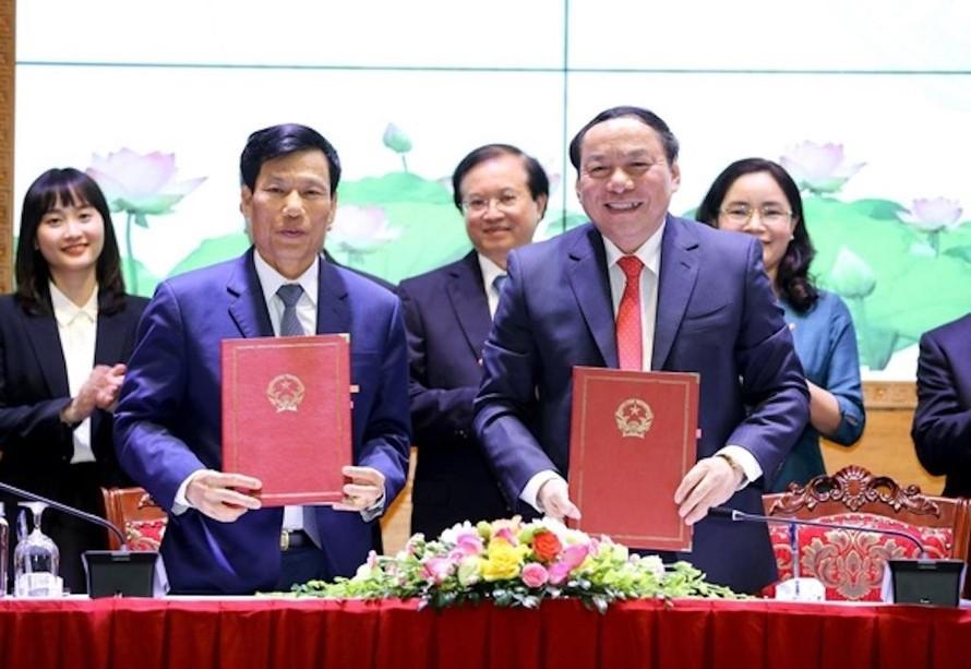 Ông Nguyễn Văn Hùng nhận nhiệm vụ Bộ trưởng Bộ VH-TT-DL