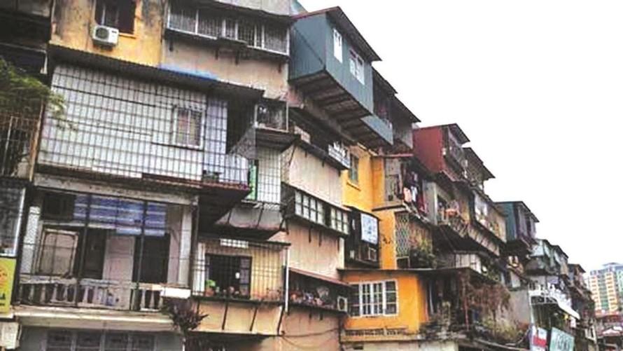 Hà Nội sẽ dùng ngân sách để kiểm định, đánh giá tình trạng chung cư cũ
