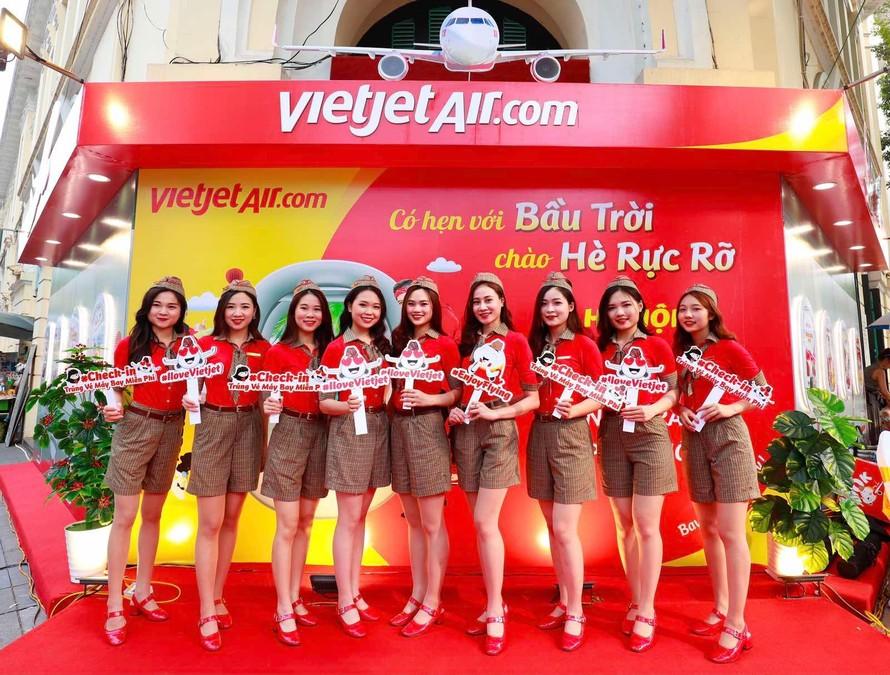 Mừng lễ 30/4 - 1/5 cùng Vietjet bay muôn nơi với 468.000 vé trọn gói chỉ từ 468.000 đồng