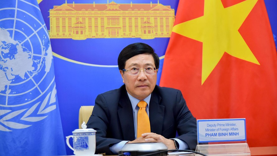 Thông điệp của Phó Thủ tướng Phạm Bình Minh gửi tới Khóa họp lần thứ 77 của UNESCAP