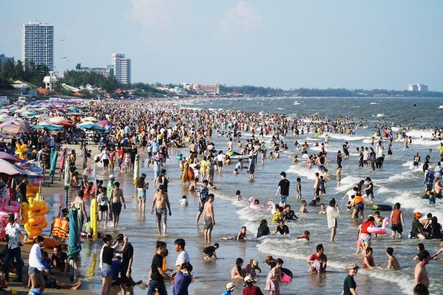 Ngày 1/5, thành phố Vũng Tàu đón và phục vụ gần 100.000 lượt khách.