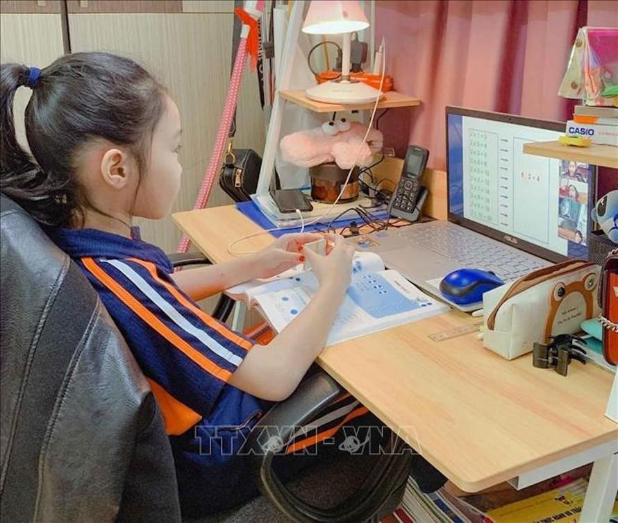 Bộ Giáo dục và Đào cho biết chỉ tổ chức thi học kỳ trực tuyến trong trường hợp bất khả kháng.