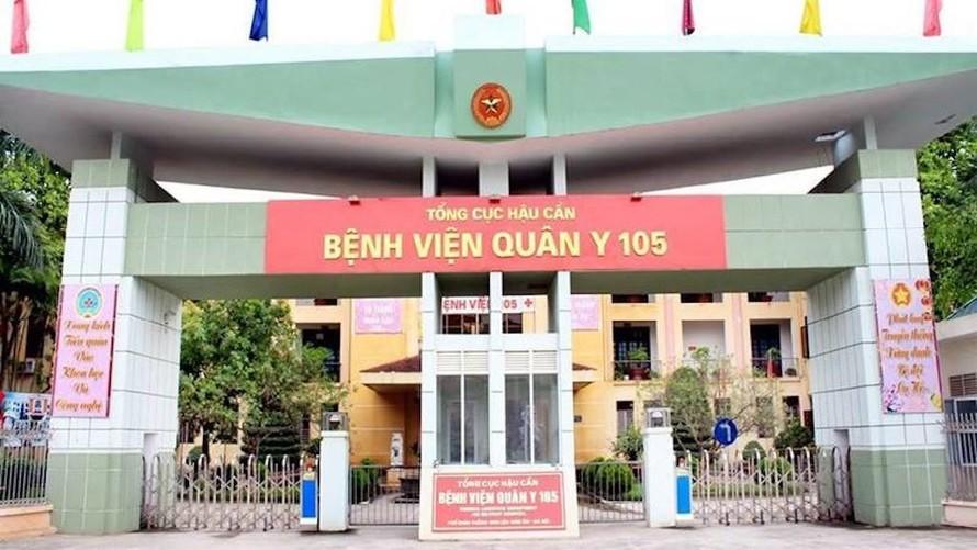 Bệnh viện Quân y 105 (thị xã Sơn Tây, Hà Nội).