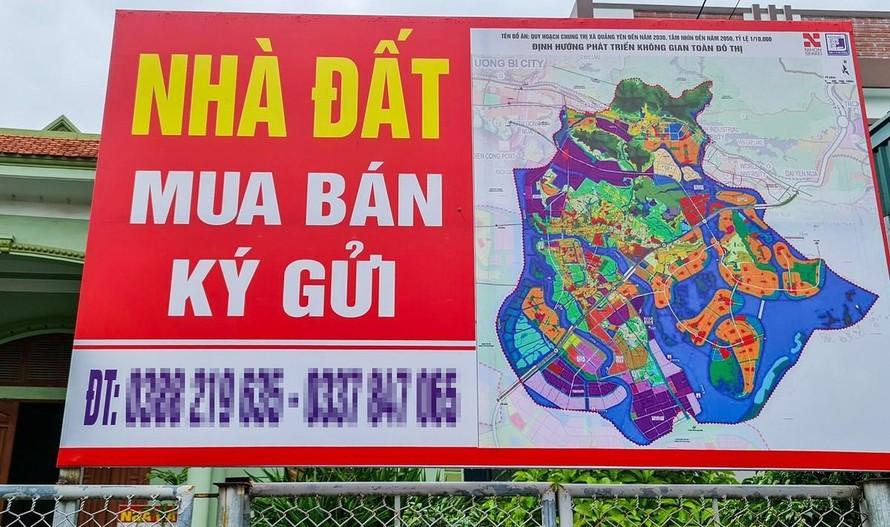 Chính phủ: Thổi giá đất sẽ bị xử lý nghiêm khắc