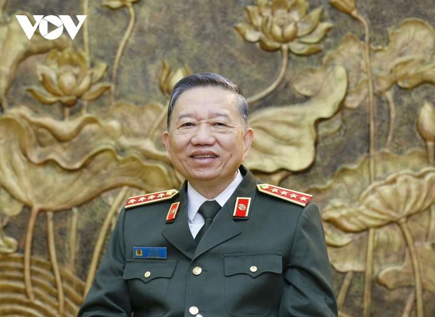 Đại tướng Tô Lâm: Xây dựng người Công an nhân dân bản lĩnh, nhân văn, vì Nhân dân phục vụ