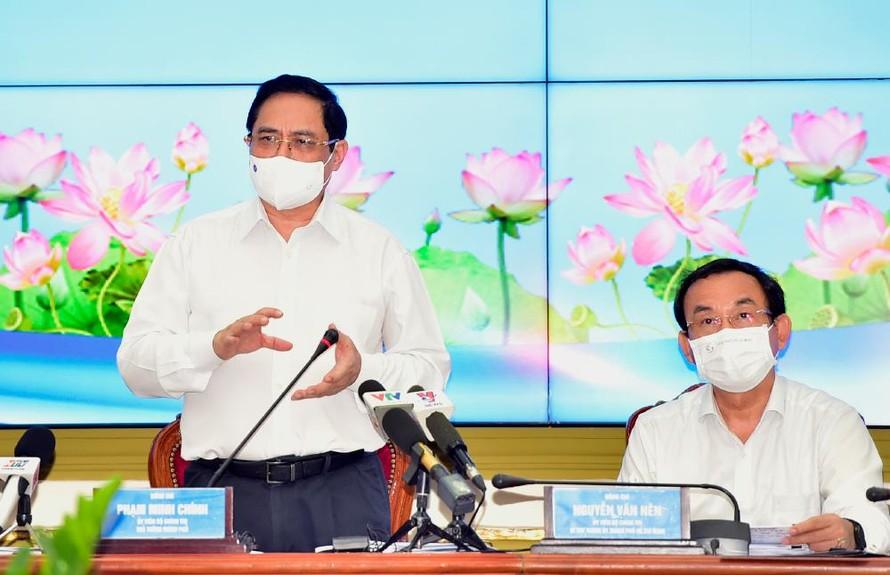 Thủ tướng: TPHCM cần tự lực, chủ động đổi mới để phát triển