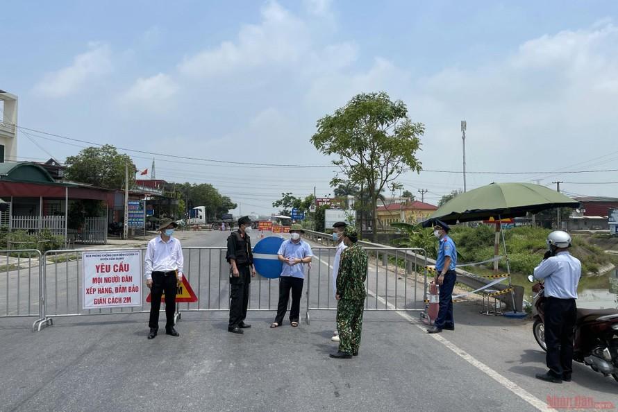 Chiều 21/5: Thêm 58 ca nhiễm mới COVID-19, Bắc Giang có 39 trường hợp